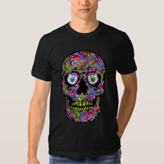 PSYCHEDELIK SKULL (with eyes) Tshirt