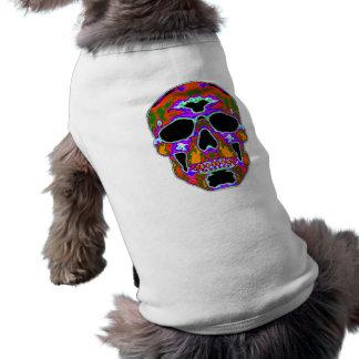 Psychedellic Skull Dog Clothes