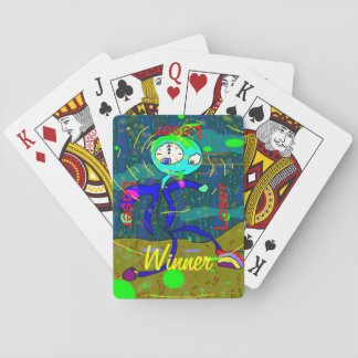 Psychedellic Winner Playing Cards