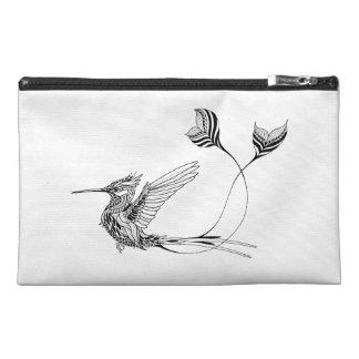 Psychedlic Bird Tattoo Travel Accessory Bag
