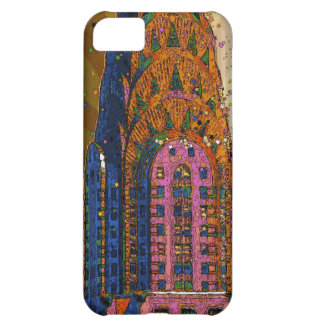 Psychedlic NYC: Chrysler Building Top Closeup #1 iPhone 5C Cover