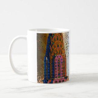 Psychedlic NYC: Chrysler Building Top Closeup #1 Coffee Mug