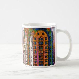 Psychedlic NYC: Chrysler Building Top Closeup #2 Coffee Mug