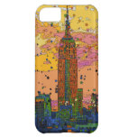 Psychedlic NYC: Empire State Building #1 Case For iPhone 5C