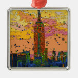 Psychedlic NYC: Empire State Building #1 Ornatos