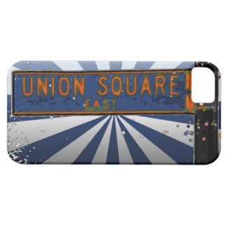 Psychedlic NYC: Union Square Street Sign A1 iPhone 5 Case