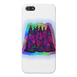 Psychedlic Victorian Ladies Cases For iPhone 5