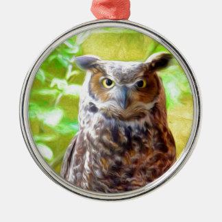 Psychedowlic Metal Ornament
