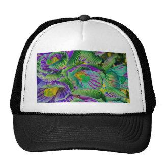 Psychelic Crocus Trucker Hat