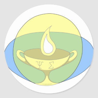 Psyches Symposion Kylix Sticker