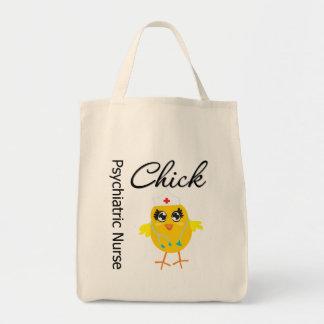 Psychiatric Nurse Chick v1 Tote Bag