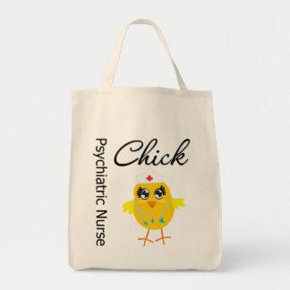 Psychiatric Nurse Chick v1 Tote Bags
