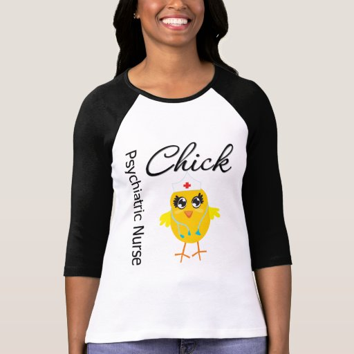 Psychiatric Nurse Chick v1 T-shirts