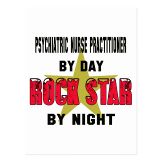 Psychiatric Nurse Practitioner by Day rockstar by Postcard