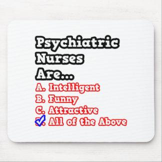 Psychiatric Nurse Quiz...Joke Mousepads