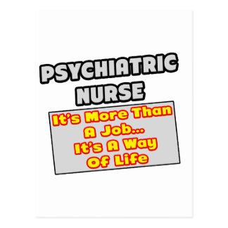 Psychiatric Nurse...Way of Life Postcards