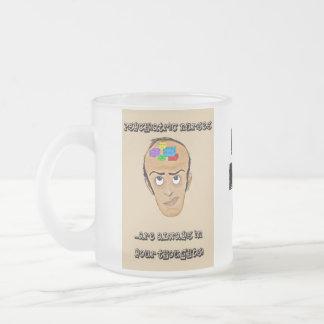 Psychiatric Nurses-Happy Nurses Week Frosted Glass Coffee Mug