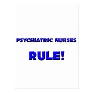 Psychiatric Nurses Rule! Postcard