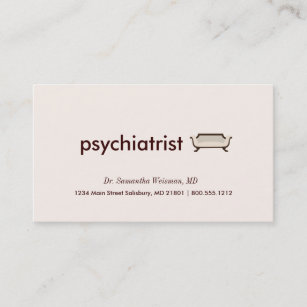 Psychiatry business cards zazzle psychiatrist business cards colourmoves