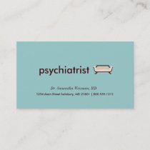 Psychiatrist Business Cards