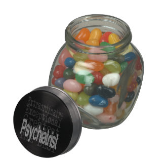 Psychiatrist Extraordinaire Jelly Belly Candy Jars