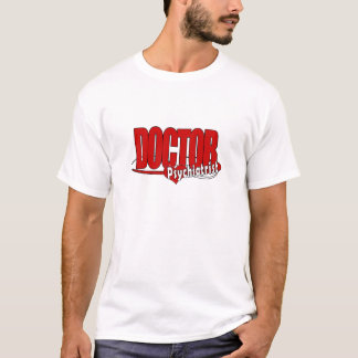 PSYCHIATRIST LOGO BIG RED DOCTOR T-Shirt