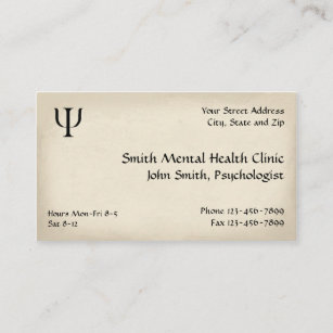 Psychiatrist business cards zazzle psychiatrist mental health business card colourmoves