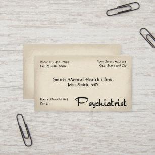 Psychiatry business cards templates zazzle psychiatrist mental health business card colourmoves