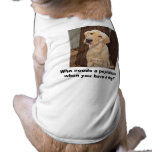 Psychiatrist Pet Shirt