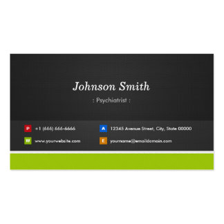 Psychiatrist - Professional and Premium Business Card