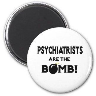Psychiatrists Are The Bomb! Magnets