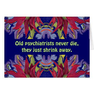 psychiatrists humor card