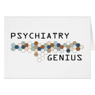 Psychiatry Genius Card