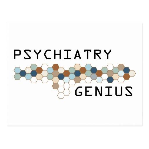Psychiatry Genius Postcard