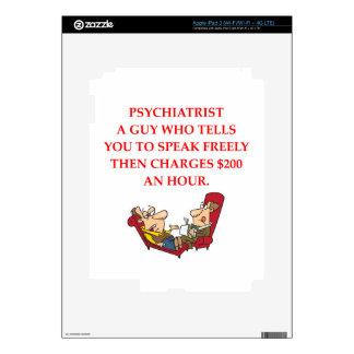 PSYCHIATRY iPad 3 SKINS