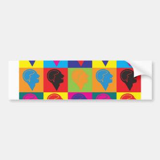 Psychiatry Pop Art Car Bumper Sticker