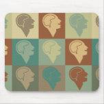 Psychiatry Pop Art Mouse Pad