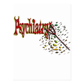 Psychiatry skewered by its own pitchfork! postcard