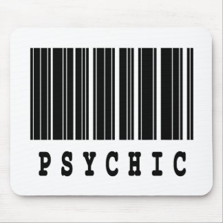 psychic barcode design mouse pad