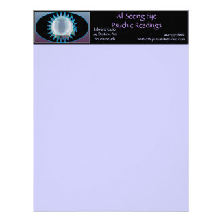 Psychic Business All Seeing Eye Letterhead