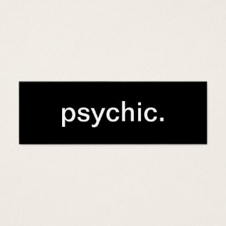 Psychic Business Card