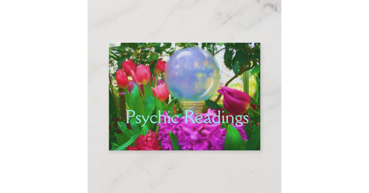 Psychic Business Card | Zazzle.com