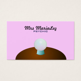 Psychic Business Cards Background color changeable