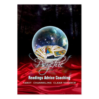 PSYCHIC - Business-, Profile-, Schedule Card Large Business Card