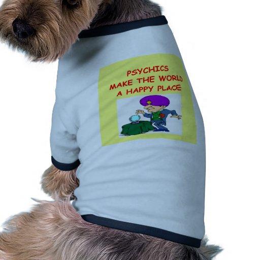 psychic dog t shirt