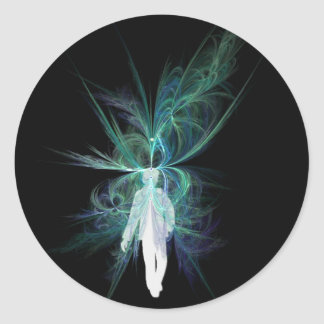 Psychic Energy Classic Round Sticker