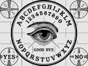Psychic Eye Talking Board T Shirt