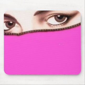 Psychic eyes mouse pad