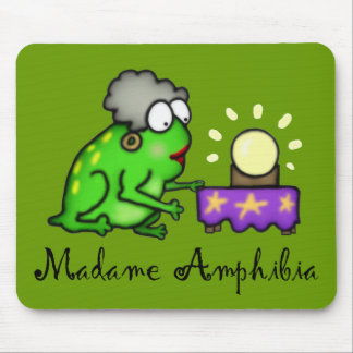 Psychic Frog Mouse Pad