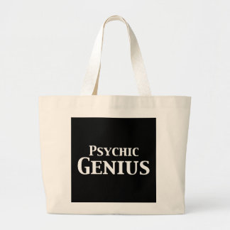 Psychic Genius Gifts Jumbo Tote Bag